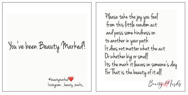 BeautyMarkedCard